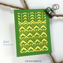 Geo Pina - Note Card - The Nice Paper Co.