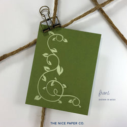 Climbing Vine - Note Card - The Nice Paper Co.