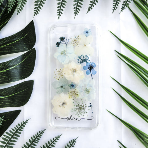 Aquamarine Name Phone Case (Pre-Order)