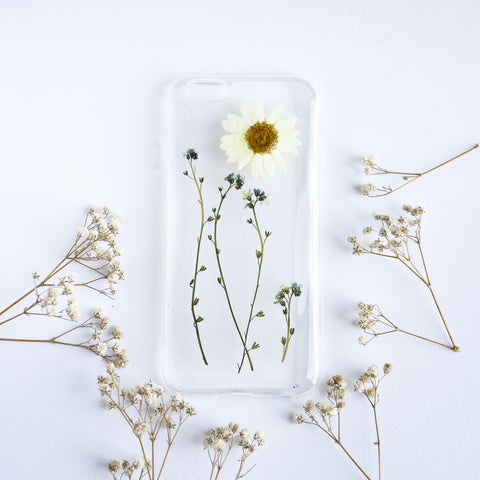 Forget Me Daisy Phone Case