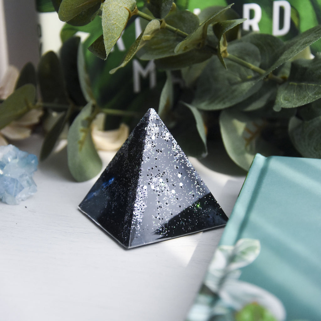Night Sky Pyramid Table Ornament