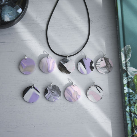 Purple Sage Necklace