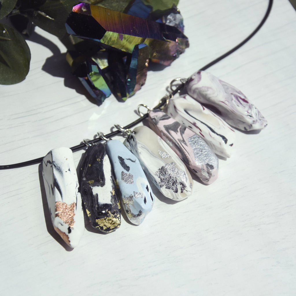 Marble Quartz Necklace