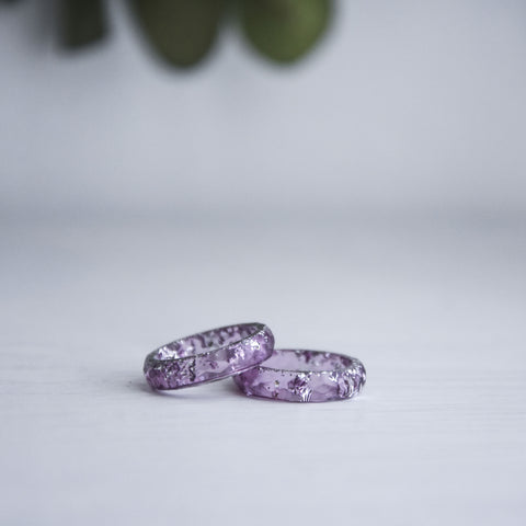 Aria Faceted Ring - Garnet