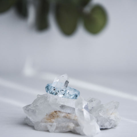 Aria Faceted Ring - Astral