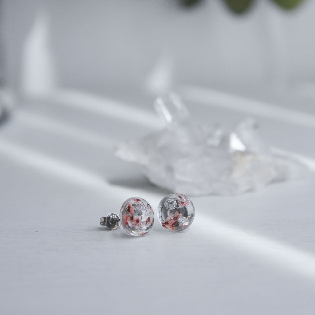 Hailey Post Ear Studs - Sakura