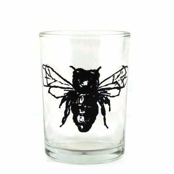 Bee Juice Glass - Pink Pig