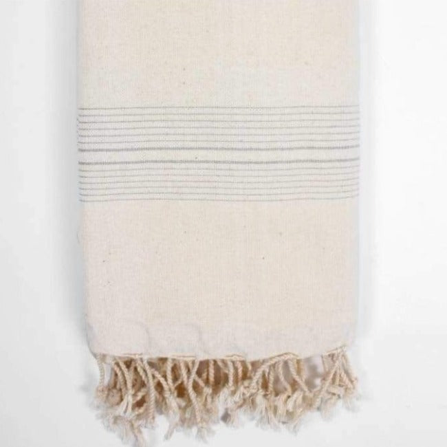 Lamu Grey Hammam Towel