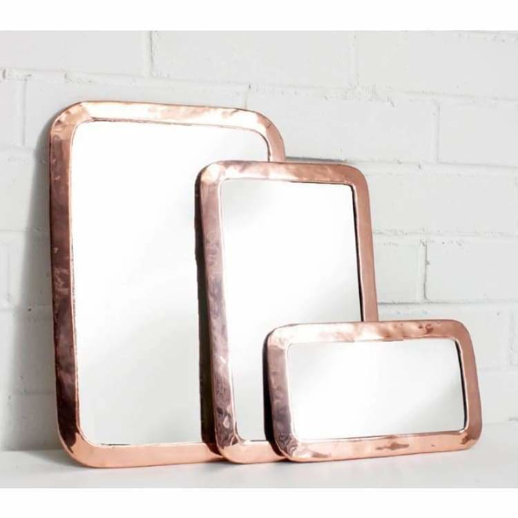 Moroccan Rose Rounded Rectangle Mirror