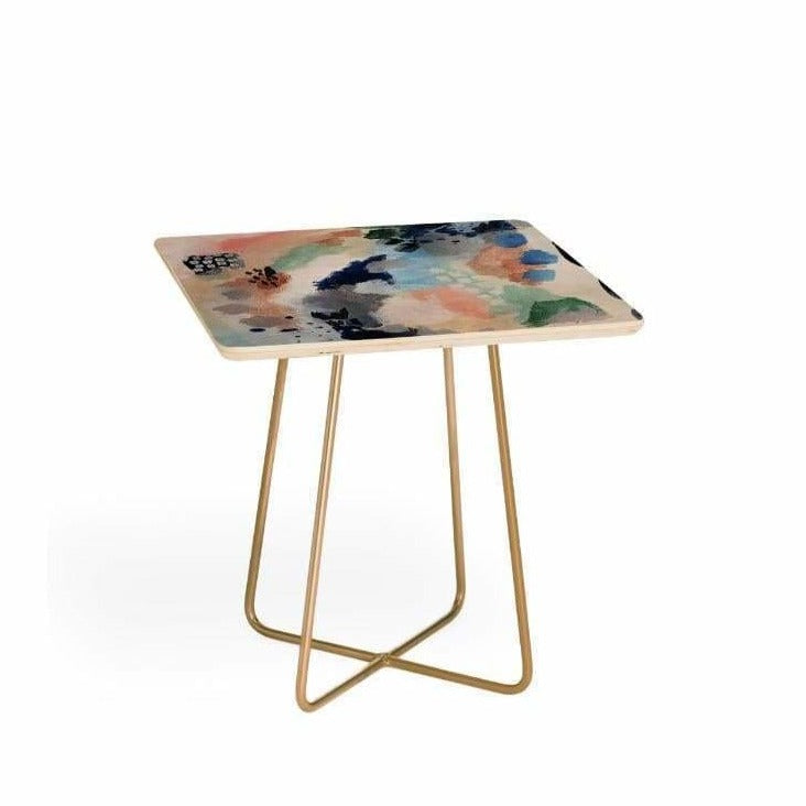 Abstract Side Table - Deny Design - Pink Pig