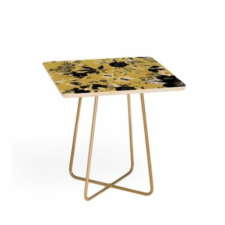 Two Tone Bloom Side Table