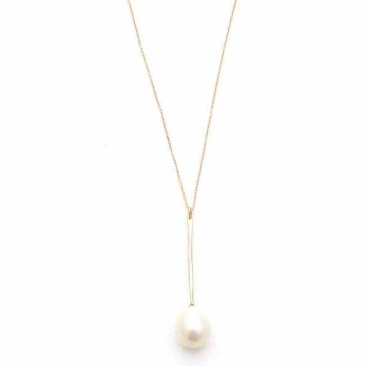Jacqueline Rose Wand Pearl Pendant