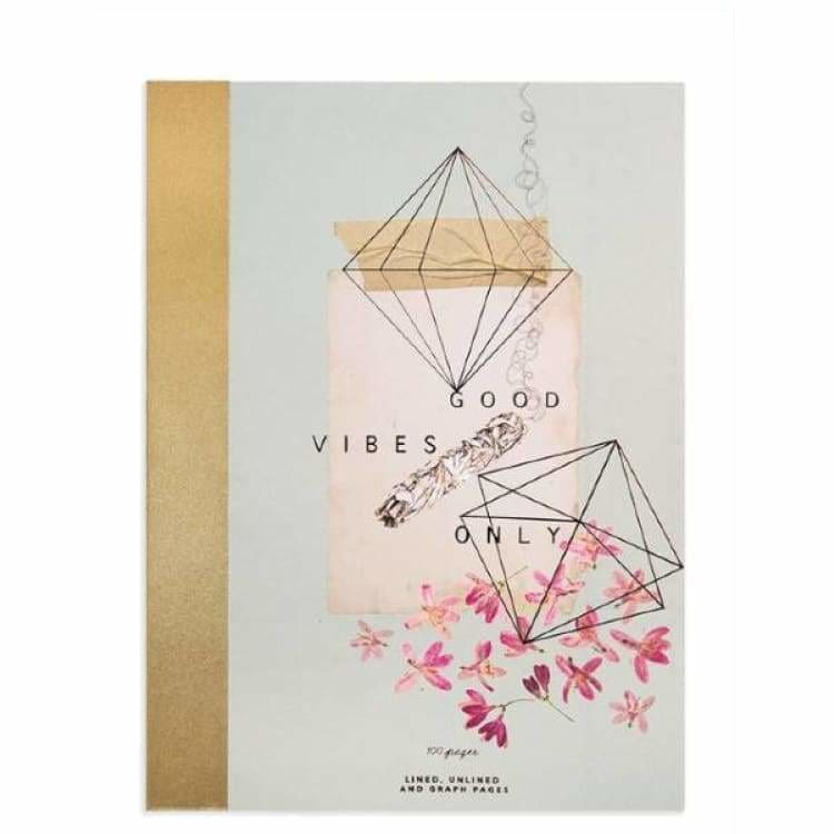 Papaya Art Good Vibes Clothbound Notebook