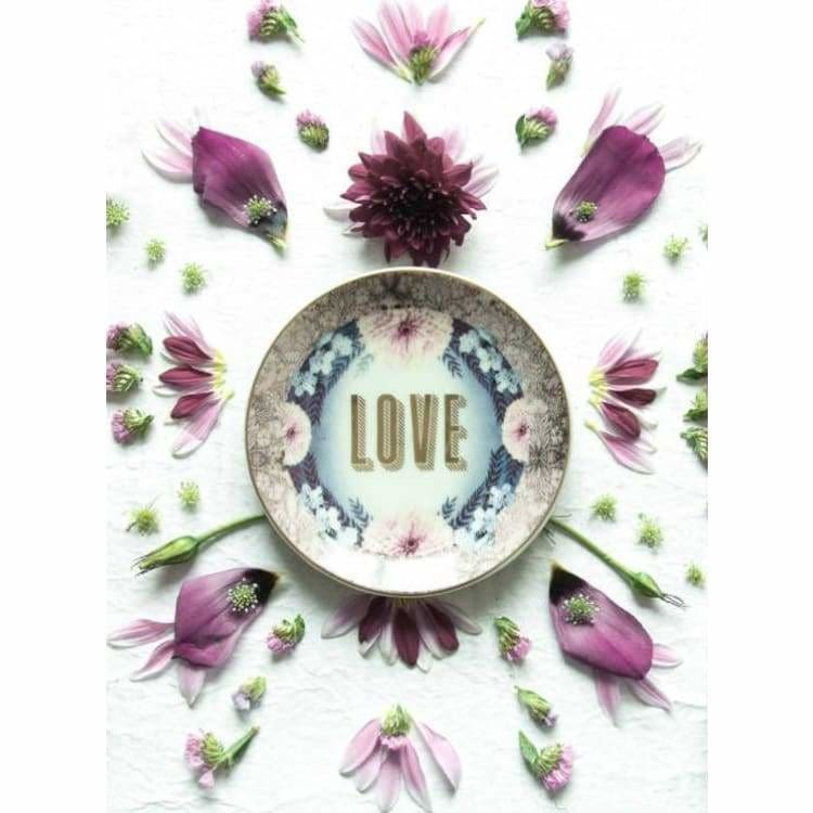Love Catch All Trinket Tray - Pink Pig