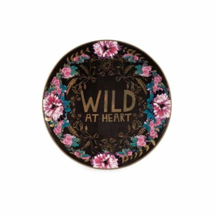Wild At Heart Catch All Trinket Tray - Pink Pig