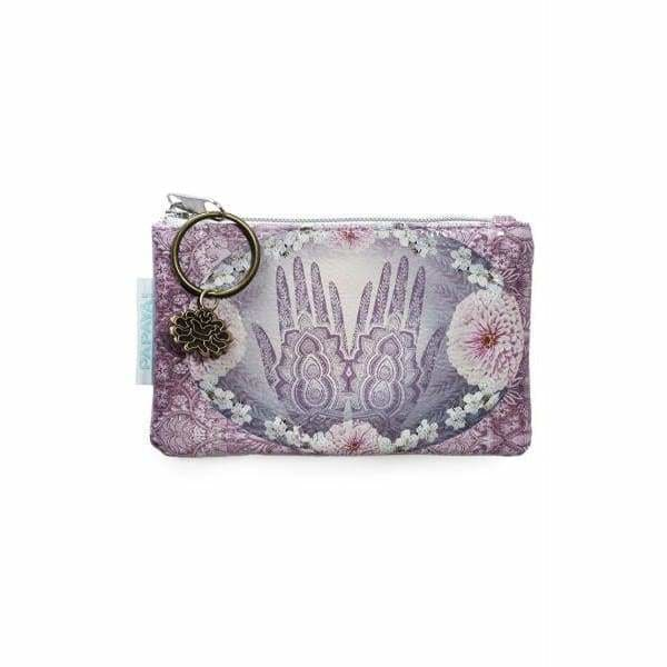 Henna Coin Purse - Papaya Art - Pink Pig