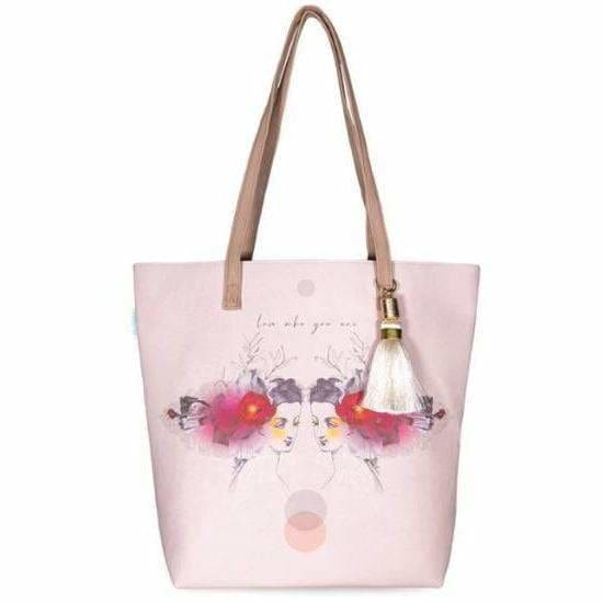 Papaya Art Reflection Tote