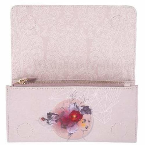 Papaya Art Reflection Wallet - Pink Pig