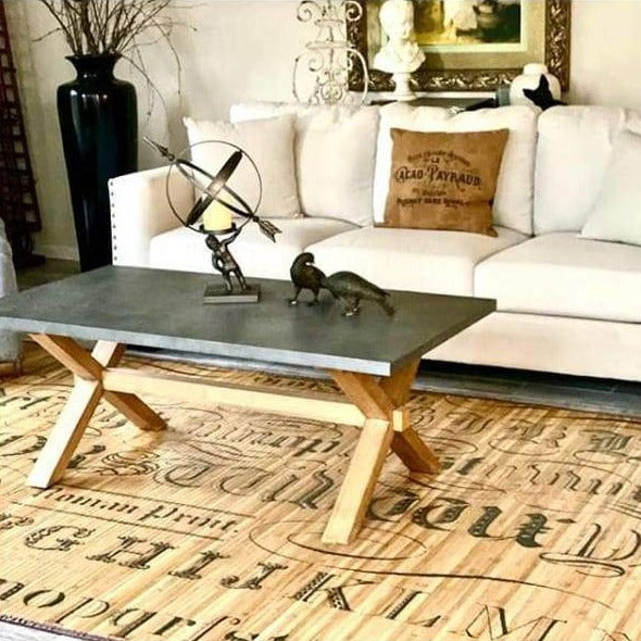 Paris Tattoo Bamboo Mat