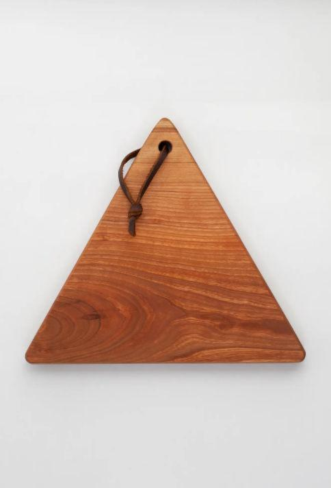 Cherry Triangle Serving Board - Pink Pig