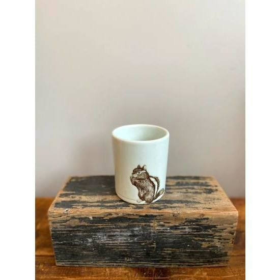 SKT Studio Large Squirrel Cup - Pink Pig