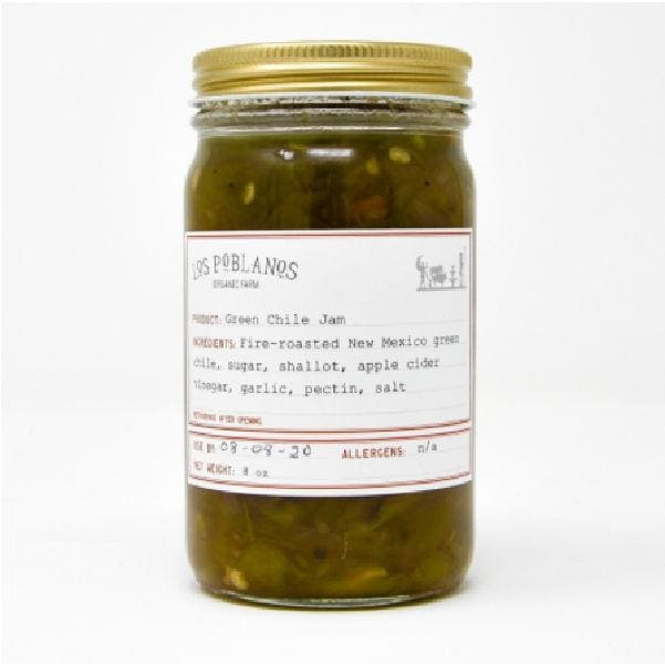 Los Poblanos Green Chile Jam - Pink Pig