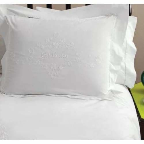 Dawson+Hellman Get Lucky Pillow Sham Set