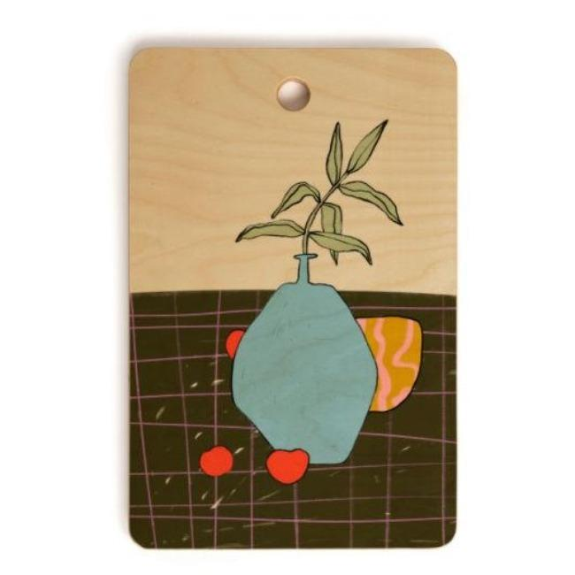 Still Life Cutting Board | Deny Design - Pink Pig