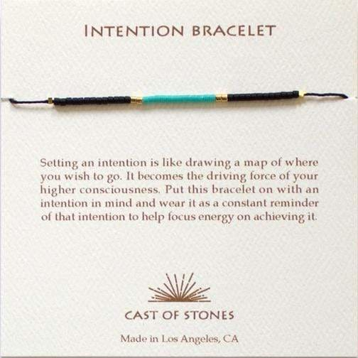 Turquoise Intention Bracelet - Cast of Stones