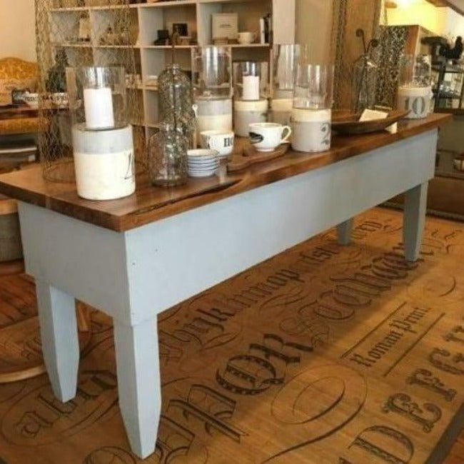 Farmhouse Butcher Table - Pink Pig