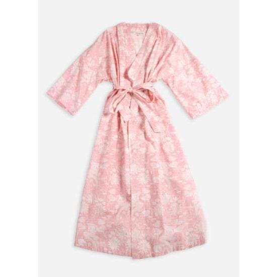PrintFresh Lily Mermaid Robe - Pink Pig