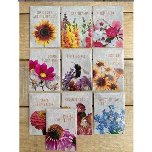 The Floral Society Individual Seed Packets - Pink Pig