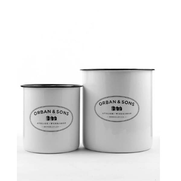 Orban & Sons Enamel Utensils Crocks