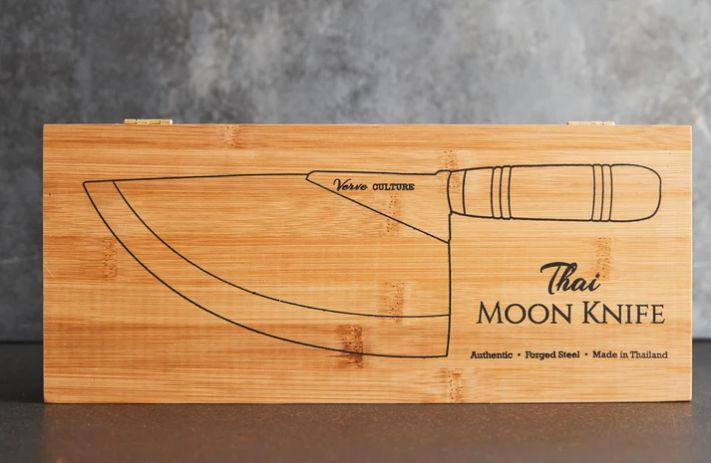 Thai Chef's Moon Knife - Pink Pig