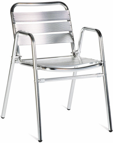 oc28 toulon metal stacking armchair contract table