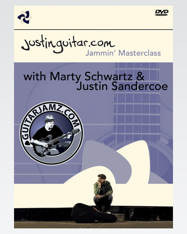 The Justin & Marty's Jammin' Masterclass DVD - The Official Justinguitar Store