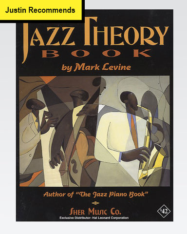 The Jazz Theory Book by Mark Lavine - The Official Justinguitar Store