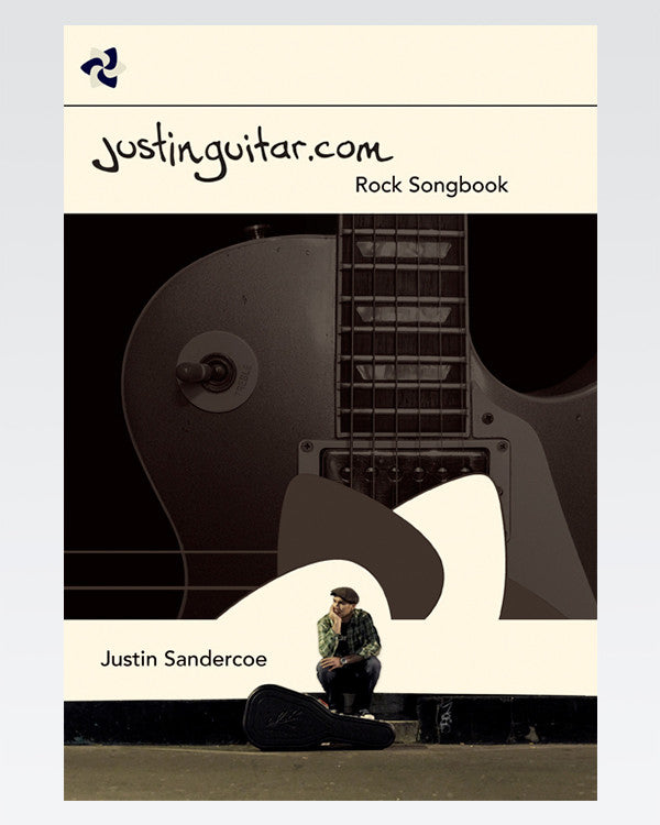 Rock Songbook The Official JustinGuitar Store 50 Songs Electric ...
