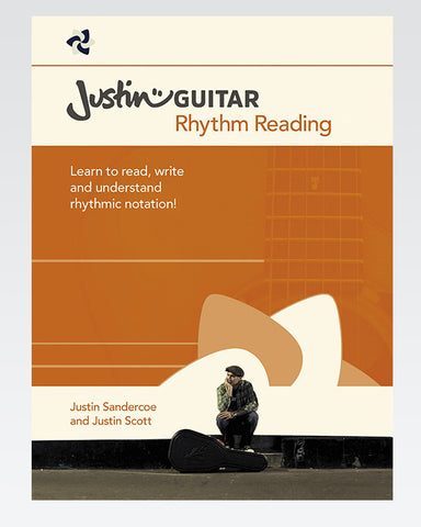 The JustinGuitar Rhythm Reading Book - The Official Justinguitar Store