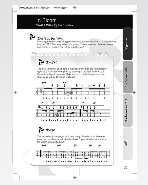 Rock Songbook The Official JustinGuitar Store 50 Songs
