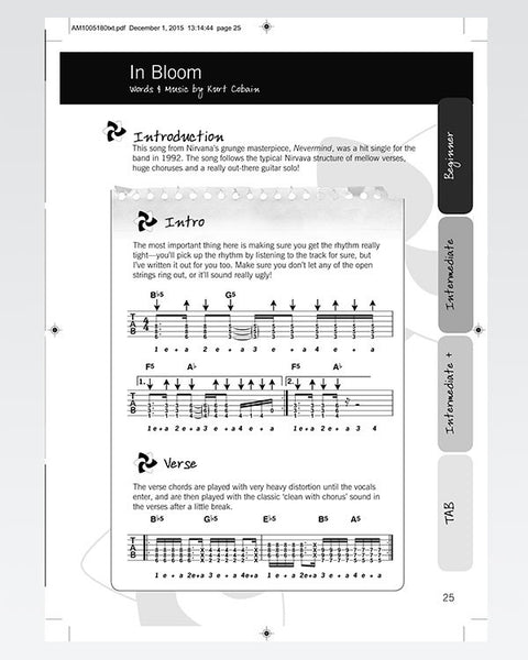 rock songbook the official justinguitar store 50 songs electric guitar justinguitar store. Black Bedroom Furniture Sets. Home Design Ideas