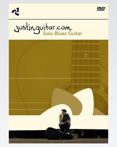 The Justinguitar Solo Blues Guitar DVD Set - The Official Justinguitar Store