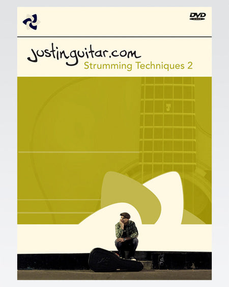 The JustinGuitar Strumming Techniques TWO DVD or DOWNLOAD - The Official Justinguitar Store