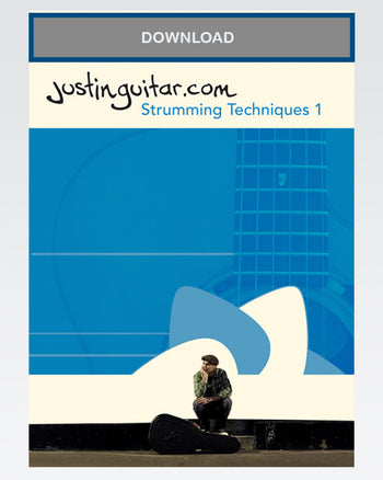 Strumming Techniques ONE - Download - The Official Justinguitar Store