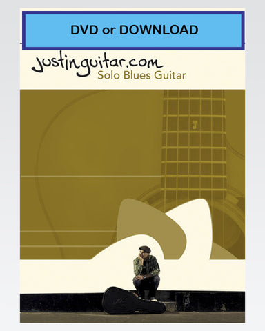 The JustinGuitar Solo Blues Guitar DVD Set or DOWNLOAD - The Official Justinguitar Store