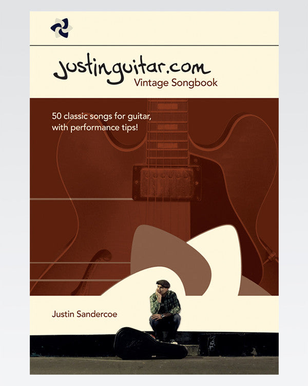 Vintage Songbook - The Official Justinguitar Store