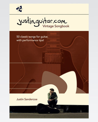 The JustinGuitar Vintage Songbook - The Official Justinguitar Store