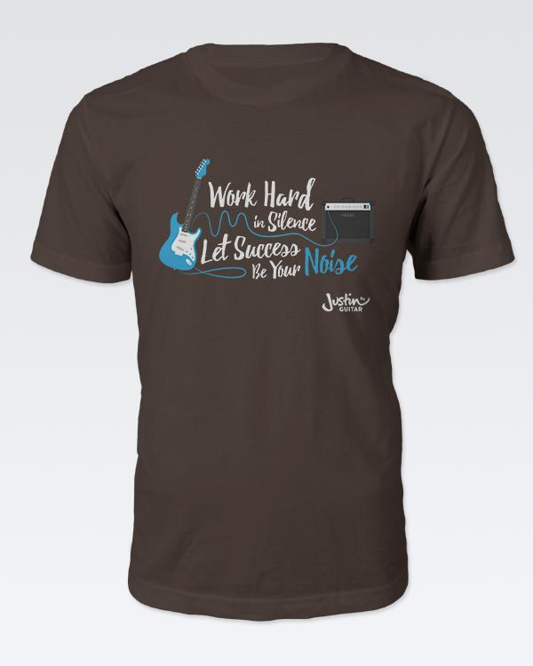 Work Hard In Silence - The Official Justinguitar Store