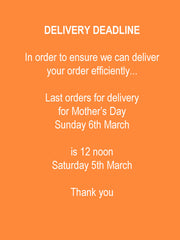 Delivery Deadline