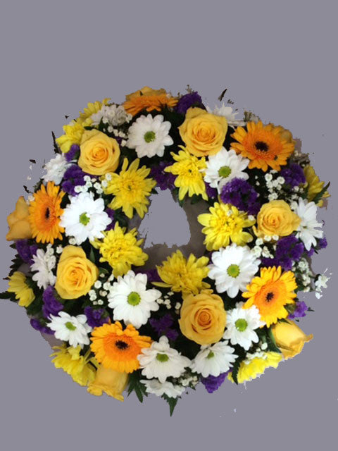 Funeral Wreath - Alan Brown Flowers